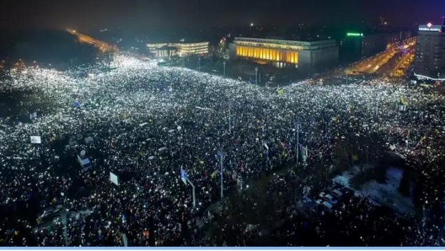 Tüntetés: Bukaresti Tüntetés 2017